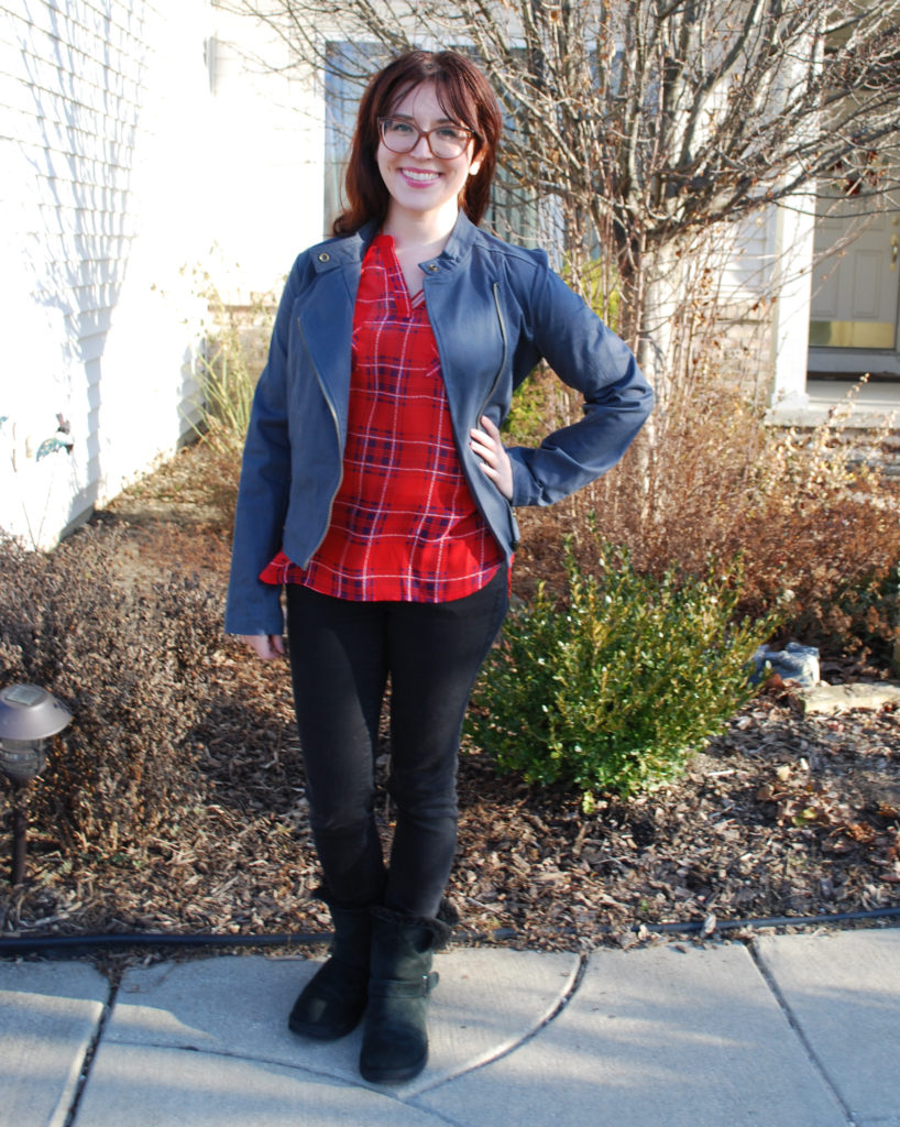 For Stitch Fix #4, my stylist sent me cute tops and jackets that are perfect for transitioning into spring. Here's what I got and what I kept...