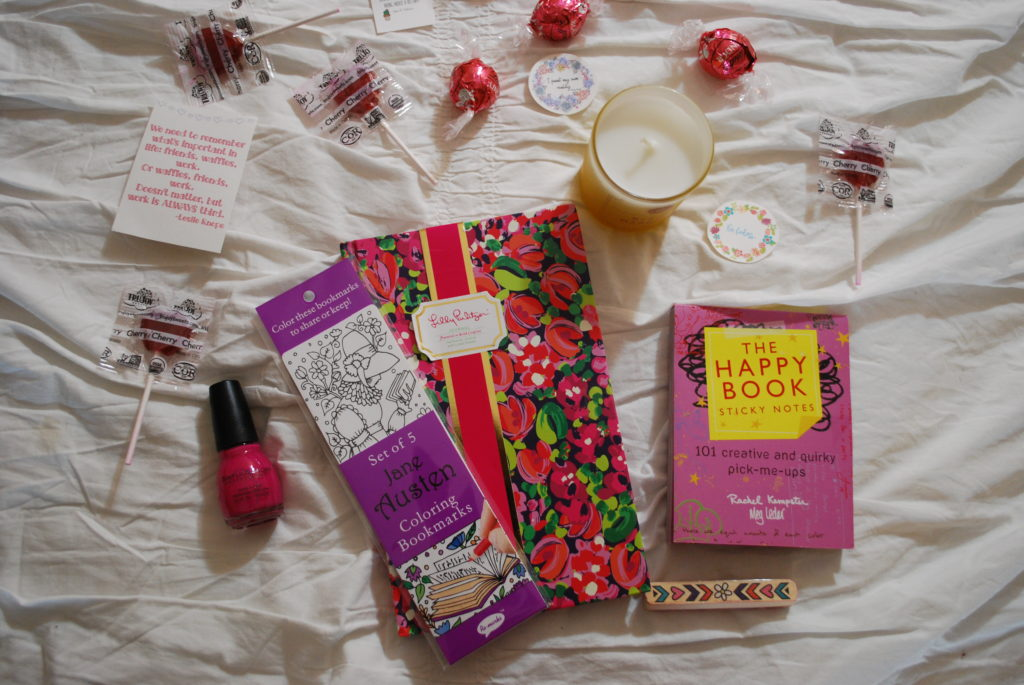 Treat yourself to some happy mail this winter and connect with a new friend through the Sweet Progress Winter Galentine's Box Swap! #SPBoxSwap