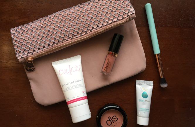 From a blush pink lip gloss to a dessert scented body mousse, my March ipsy Glam Bag is full of sweet surprises.