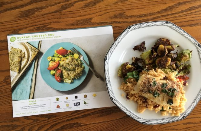 Want all the ingredients you need for dinner delivered right to your door? Hello Fresh, a meal subscription service, does just that!