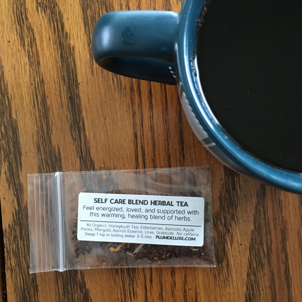 Make time for mindfulness and a cup of organic tea from Plum Deluxe. I'm sharing my thoughts on their Chocolate Hazelnut Dessert Tea and more!