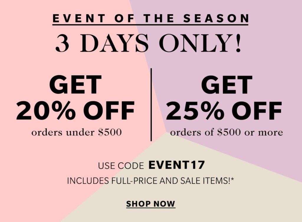 Don't miss the end of season sale happening now at Shopbop.