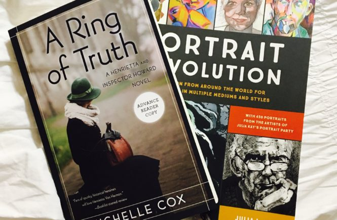 If you're stuck in doors looking for something to do, here are two books for a rainy day.