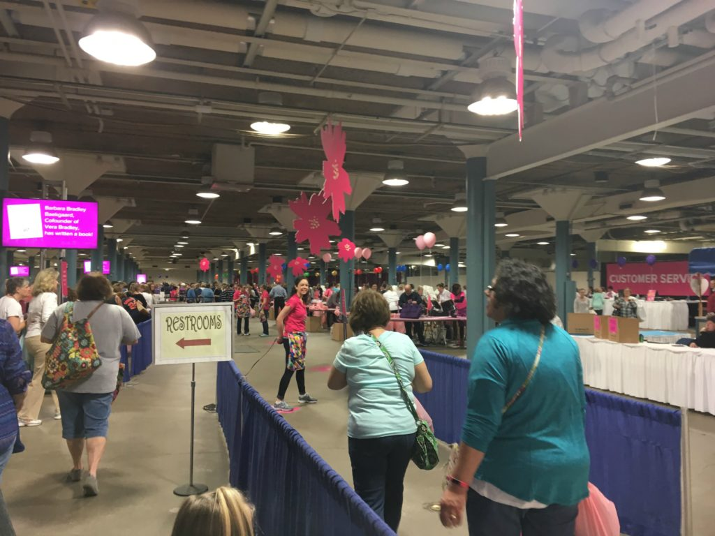 Here's what I learned from my first time shopping the huge Vera Bradley Annual Outlet Sale. Trust me, you'll want to bring snacks.