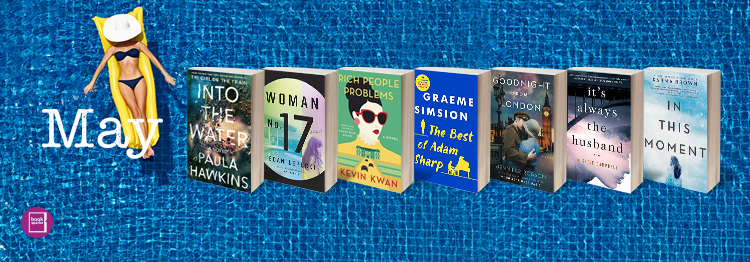 Now is the perfect time to start thinking about your summer reading list. BookSparks has some great suggestions for May, like Paula Hawkins' Into the Water.