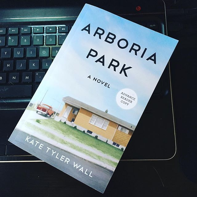 The BookSparks Summer Reading Challenge is in full swing! Arboria Park is inspired by Kate Tyler Wall's childhood neighborhood and her love of punk rock.