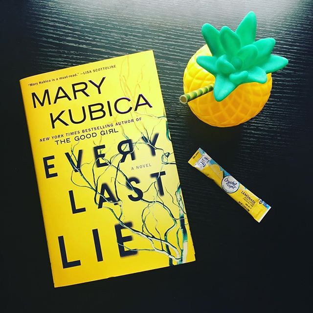 Last summer, I read Mary Kubica's Don't You Cry, so I was eager to dig into her latest novel, Every Last Lie, and it doesn't disappoint.