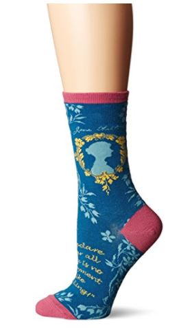 A few of my favorite things: Jane Austen, cute socks, and Amazon Prime. Did I mention there's a giveaway, too?