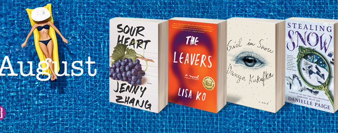 TheBookSparks Summer Reading Challengeis wrapping up with 4 fabulous books that are perfect for finishing off your summer reading.