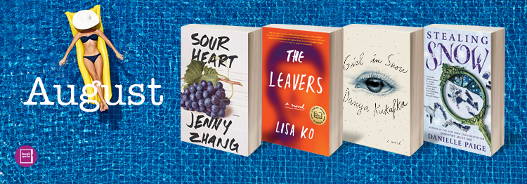 The BookSparks Summer Reading Challenge is wrapping up with 4 fabulous books that are perfect for finishing off your summer reading.