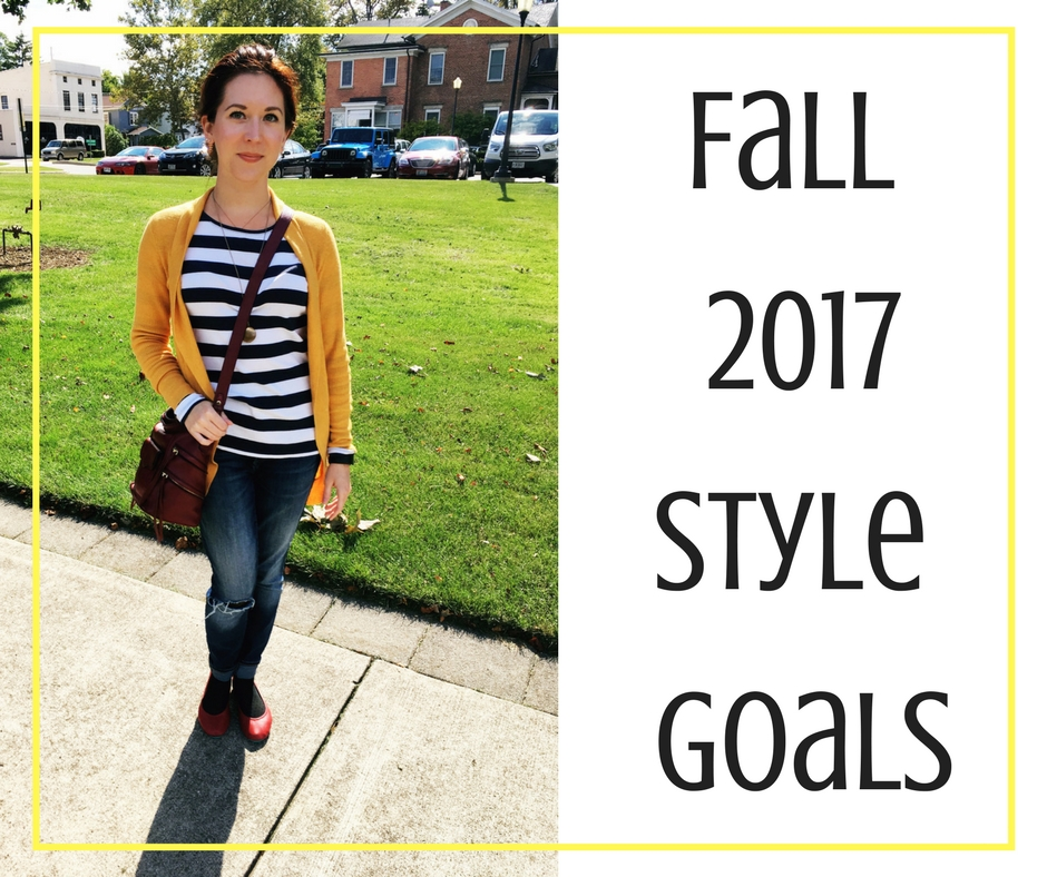 The change of season is a wonderful excuse to upgrade your wardrobe. In order to up my OOTD game, I'm sharing four of my fall 2017 style goals.