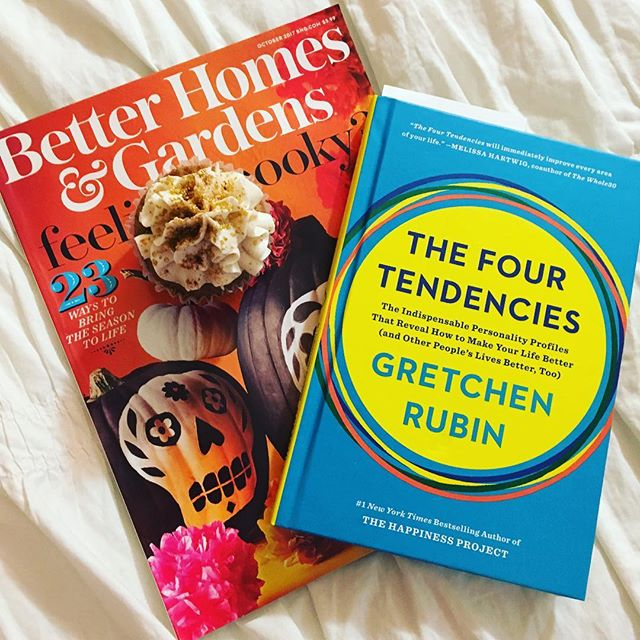 Friday Favorites... Gretchen Rubins's new book, The Four Tendencies, is my latest read courtesy of Blogging for Books.