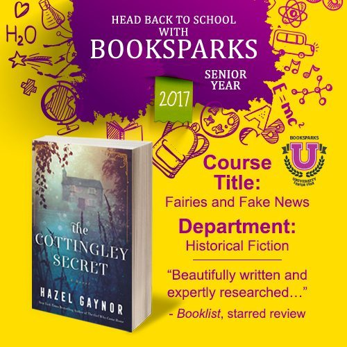 Start the new season off right with the BookSparks Fall Reading Challenge! The Cottingley Secret is a cozy read that you'll want to add to your book list.