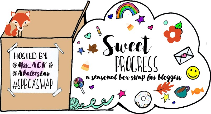 Today is the Fall Sweet Progress Box Swap reveal, and I'm so excited to see what everyone got.
