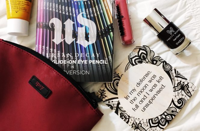 See the five fabulous beauty products I received in my October 2017 Ipsy Glam Bag!