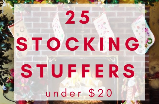 If you are playing Santa this year and need a few gift ideas, here are 25 stocking stuffers under $20. You may need one or two things for yourself...