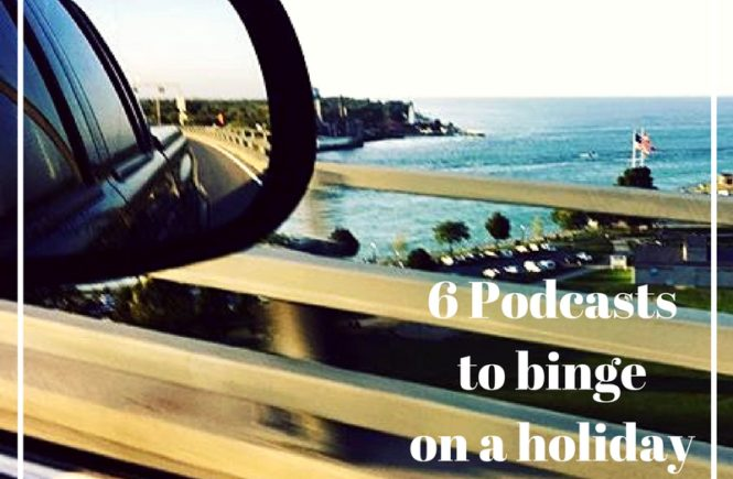 If you are hitting the road this holiday season, a podcast is the perfect way to past the time. Here are 6 podcasts to binge on your holiday road trip.