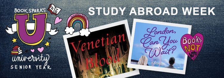 The university themed BookSparks Fall Reading Challenge continues with a study abroad selection, Christine Evelyn Volker's mystery, Venetian Blood.