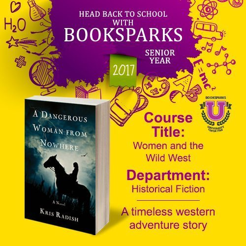 Fall's crisp nights are the perfect time to snuggle in, so grab our next BookSparks pick,A Dangerous Woman from Nowhereby Kris Radish, and start reading.