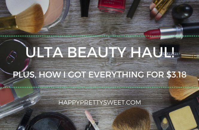 Pay attention beauty addict to these four ways you can save money at ULTA Beauty! I'm sharing my latest haul, which I got for less than $4 using these tips.