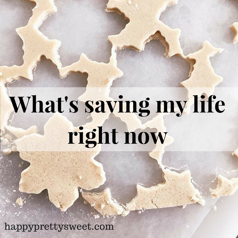 Taking my cue from Modern Mrs. Darcy, I'm sharing a few things that are making my life a little better and my days a little brighter. Here are five things that are saving my life right now....