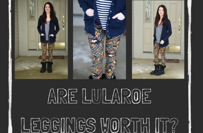 Colorful, print leggings are showing up everywhere from your Facebook feed to lifestyle and fashion bloggers. It's safe to say the LuLaRoe leggings have taken the world by storm. But, are LuLaRoe leggings worth the hype and the $25+ price?