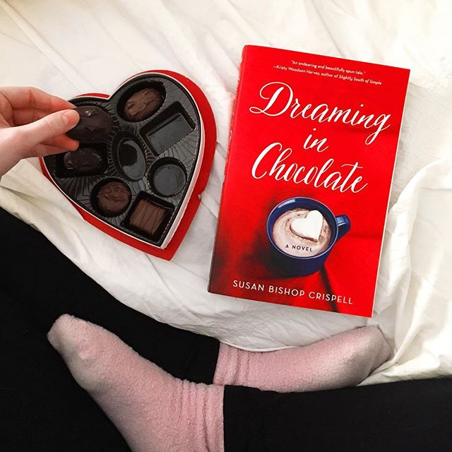 From a BookSparks Winter Reading Challenge pick, Dreaming in Chocolate, to an awesome musical, and a fun gift exchange, here's a look at what I've been up to lately...