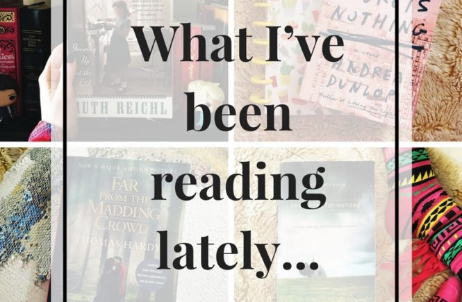 There is not better way to pass January than with a good book. Thank goodness for libraries and reading challenges that keep me busy. From magical, historical adventures to no-nonsense self-help, here's a look at what I've been reading lately...