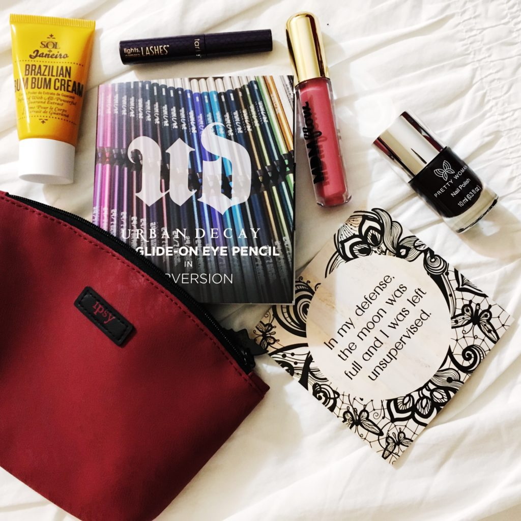 What S In My October 2017 Ipsy Glam Bag Happy Pretty